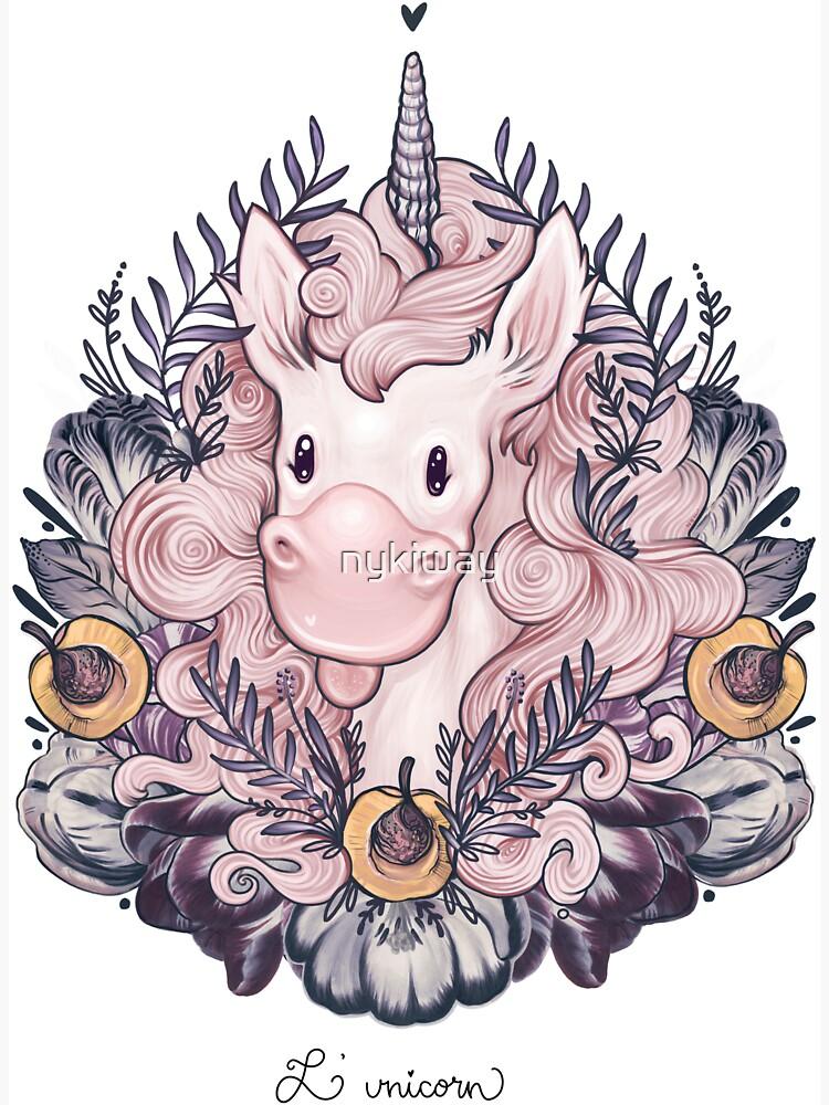 A Majestic Apricot Unicorn by