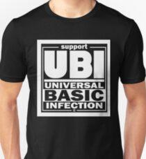 Infection   UBI White Unisex T-Shirt