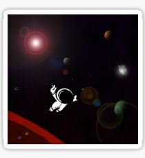 Lost In A Space Symphony - Square Sticker
