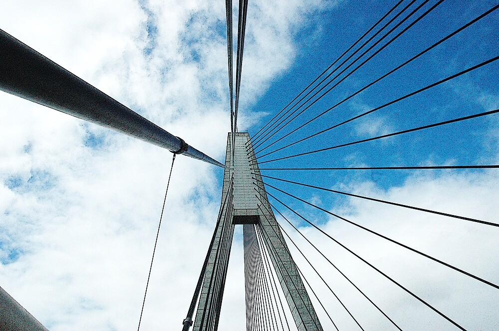 Anzac Bridge Web by Pumpkinpizza