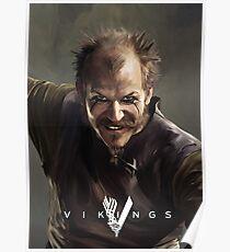 Floki Vikings Poster