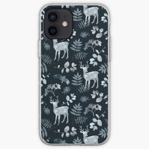 Northern forest iPhone Soft Case
