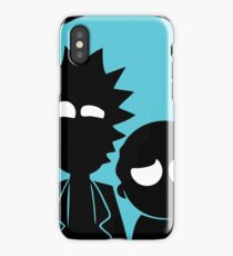 Rick and Morty in Blue iPhone Case/Skin