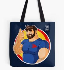 ADAM LIKES TO BEAR UP Tote Bag
