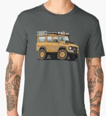 Land Rover Defender Camel Trophy Men's Premium T-Shirt