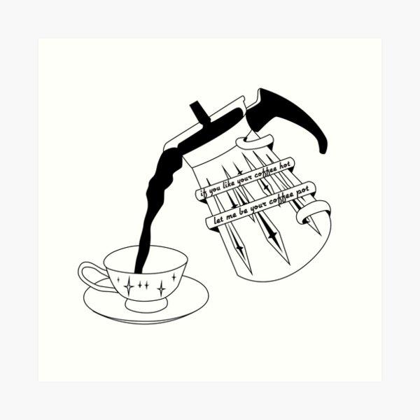 Camiseta Arctic Monkeys Lámina artística