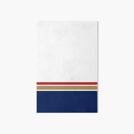 Rothmans Stripe Horizontal Art Board Print