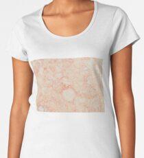 pink marble Women's Premium T-Shirt