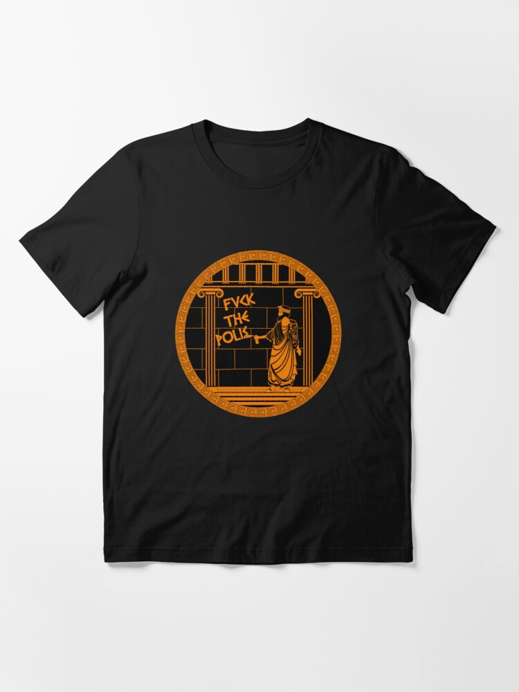 Alternate view of Fvck the polis Essential T-Shirt