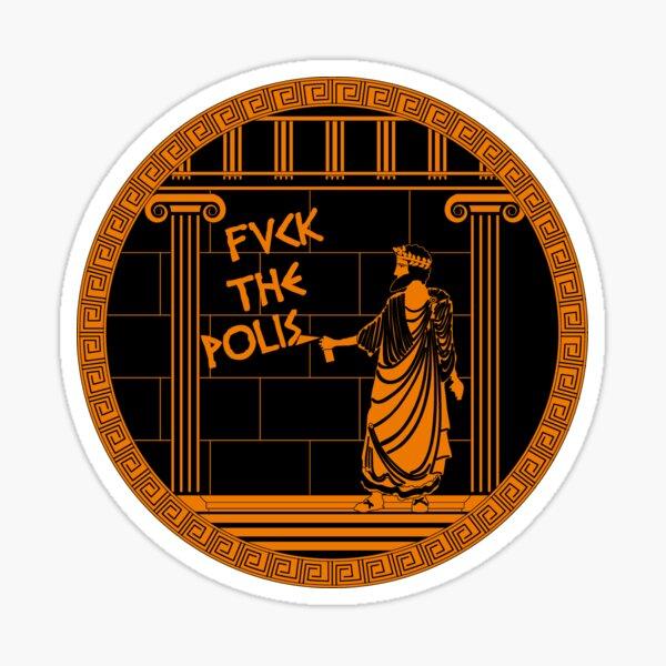 Fvck the polis Sticker
