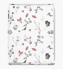 Niedliches skandinavisches Set iPad-Hülle & Klebefolie