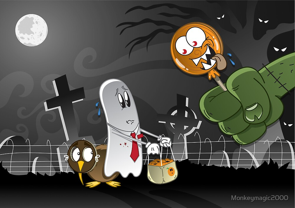 Moon Ghost: Monster Candy by Monkeymagic2000