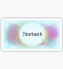 Protect Your Energy (Blue) Sticker