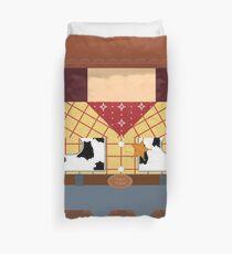 Woody Minimalist Duvet Cover
