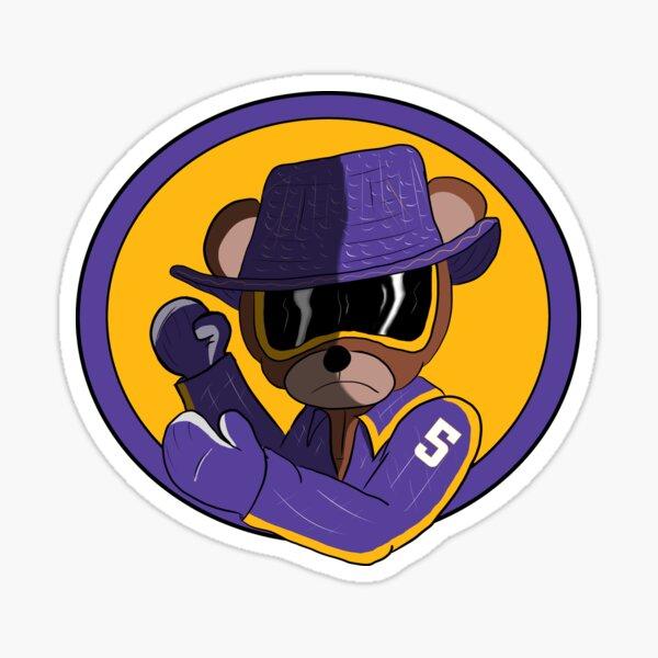 Teddy Bear Savage Sticker