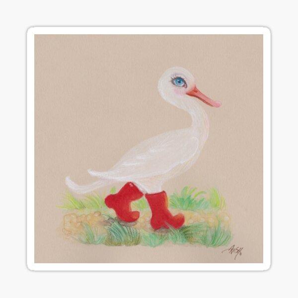 A Snozzleberry Swan excursion Sticker