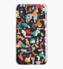 Imaginary geometric shapes - Abstract colorful pop world iPhone Case/Skin