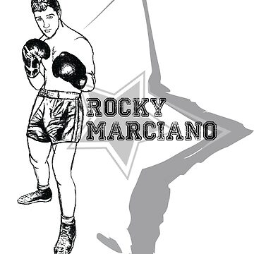 Rocky Marciano tribute by Gee1982
