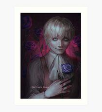 the fragile flower Art Print
