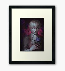 the fragile flower Framed Print