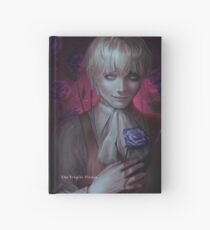 the fragile flower Hardcover Journal