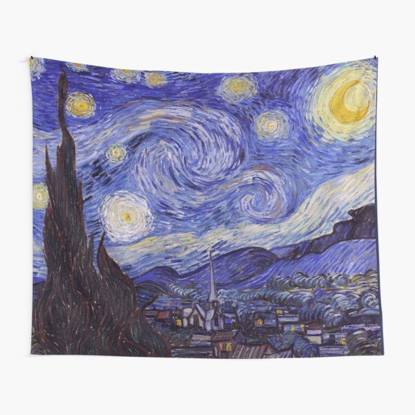 Vincent Van Gogh Starry Night Tapestry
