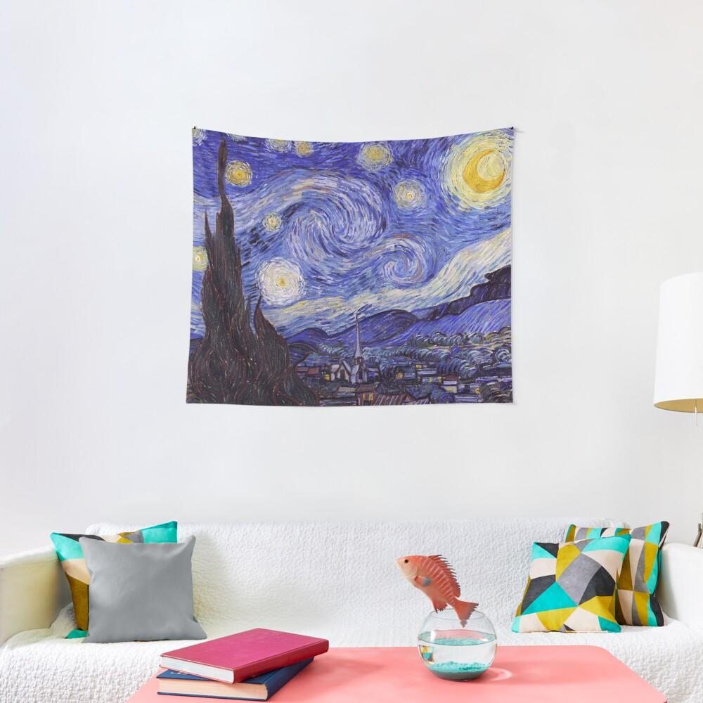 Vincent Van Gogh Starry Night Tapestry