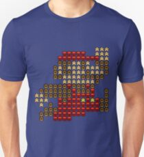 8 Bit Mario made from Sprites T-Shirt