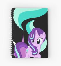 Starlight Glimmer with Cutie Mark and Name Spiral Notebook