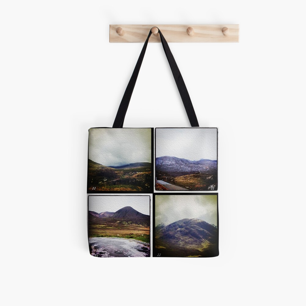 Four scenes from the Highlands Tote Bag