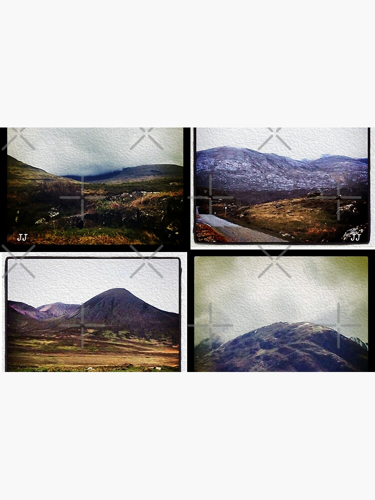 Four scenes from the Highlands by jennyjeffries