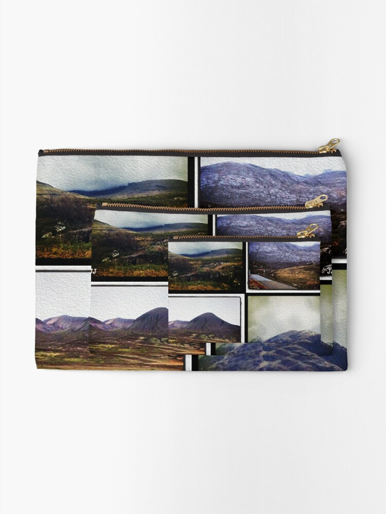 Alternate view of Four scenes from the Highlands Zipper Pouch