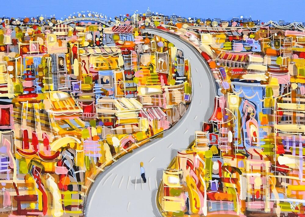On my path by Adam Bogusz