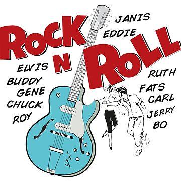Rock N Roll by kokinoarhithi