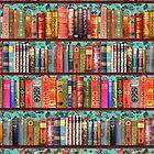 «Libros antiguos de Navidad, acebo» de MagentaRose