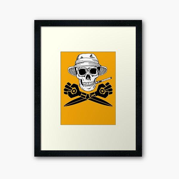Jolly gonzoROGER Framed Art Print