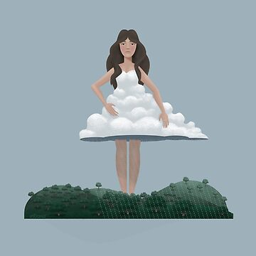 Cloud and Woman by erdavid