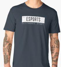 Electronic Sports EST. 1972 [White/Black Edition] Men's Premium T-Shirt