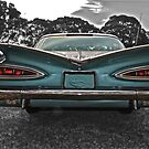 Chevrolet Impala at Sunset, Foxfield Oval by Ferenghi