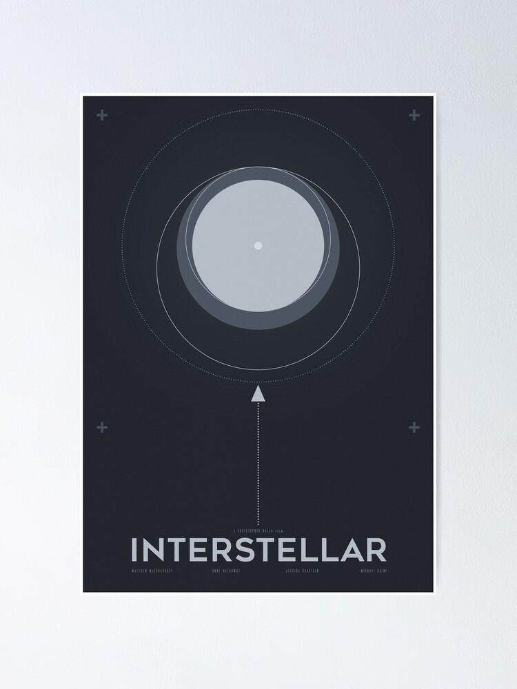 Interstellar Poster By Ryanripley Redbubble
