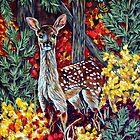 Fall Deer by Rachelle Dyer