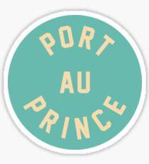 Port au Prince - Haiti Sticker