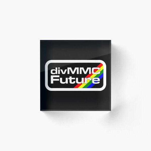 divMMC Future logo Acrylic Block
