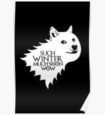 Ser Wow of House Doge (alt) Poster