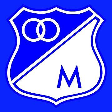 Millonarios F.C. CAMPEON by o2creativeNY