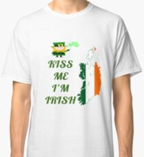 Kiss Me I'm Irish Classic T-Shirt