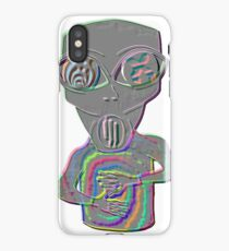 Dubstep Alien iPhone Case