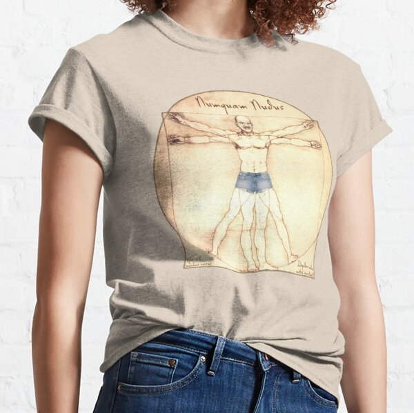 Never Nude Classic T-Shirt