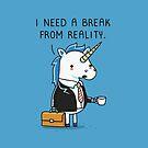 Need a break by Andres Colmenares