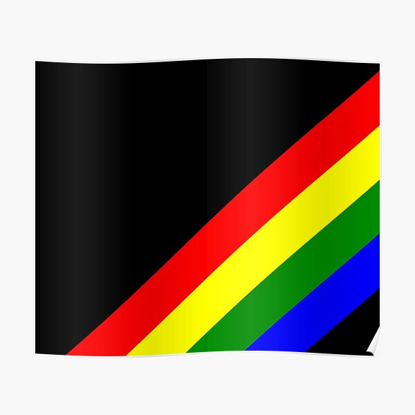 Spectral stripes Poster